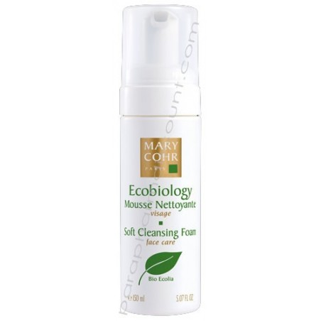 Mousse nettoyante ecobiology 150ml - Mary Cohr
